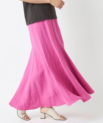 La boutique BonBon(ラブティックボンボン) 動画付き【手洗い可】マーメイドマキシスカート