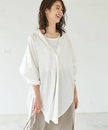 La boutique BonBon(ラブティックボンボン) 【COZスタイル・人気アイテムカラー追加・手洗い可】オーバーシャツ