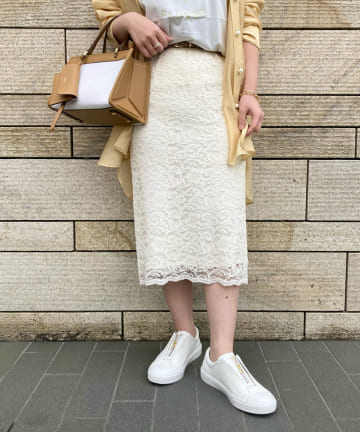 Loungedress(ラウンジドレス) イージーレーススカート