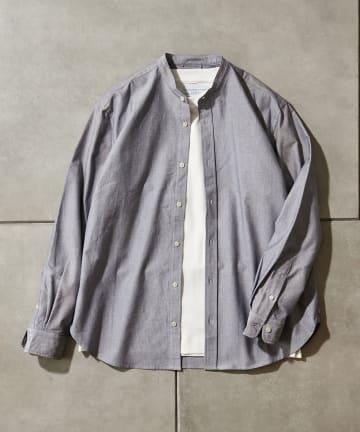 CIAOPANIC TYPY(チャオパニックティピー) 【Daily Premium/デイリープレミアム】オックスバンドカラーシャツ