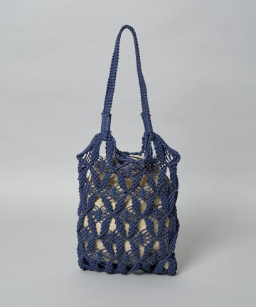 CIAOPANIC(チャオパニック) Pattern Knitting Tote/メッシュ柄トートバッグ