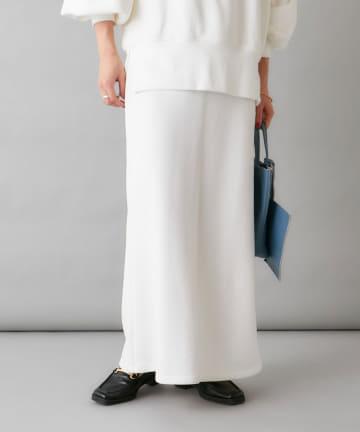 Omekashi(オメカシ) 裏毛ロングスカート