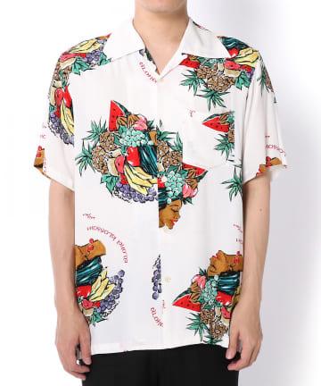 """Lui's(ルイス) 【Aloha Blossom/】""""HARVEST"""" ハワイアンシャツ"""