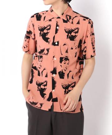 """Lui's(ルイス) 【Aloha Blossom】""""VENUS""""PINK ハワイアンシャツ"""