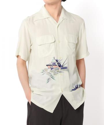 """Lui's(ルイス) 【Aloha Blossom】""""SWORD FISH"""" ハワイアンシャツ"""