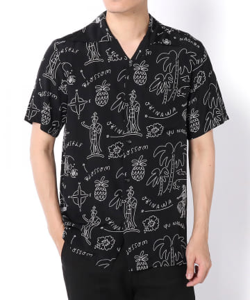 "Lui's(ルイス) 【Aloha Blossom】""HAWAIIAN"" ハワイアンシャツ"