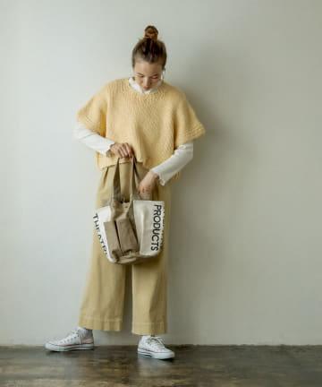 pual ce cin(ピュアルセシン) 【WEB限定】【THEATRE PRODUCTS】ガーデンバッグ