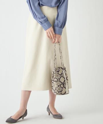 RIVE DROITE(リヴドロワ) 【《定番人気アイテム》手洗い可】エコスウェードセミストレートスカート