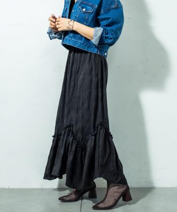 mystic(ミスティック) ランダム切替ボリュームスカート