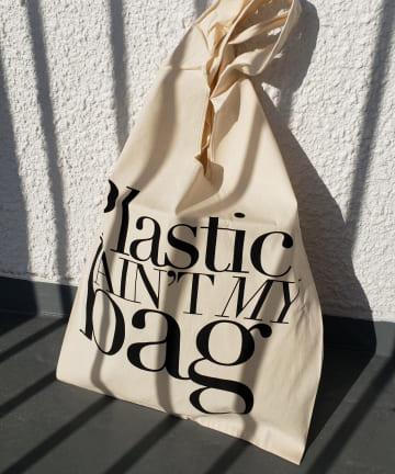 La boutique BonBon(ラブティックボンボン) 【Bag-all】Plastic Ain't My Bag Tote