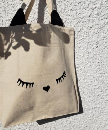 La boutique BonBon(ラブティックボンボン) 【Bag-all(バッグオール)】Cat black ear tote