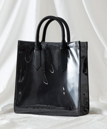 COLONY 2139(コロニー トゥーワンスリーナイン) PVCクリアトートバッグ(スムース)