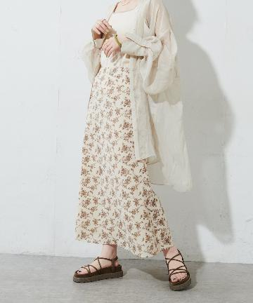 Discoat(ディスコート) VTGフラワーマーメードスカート