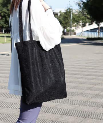 ASOKO(アソコ) ラメトートバッグ