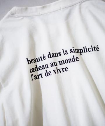 prose verse(プロズヴェール) フロッキーロゴTシャツ