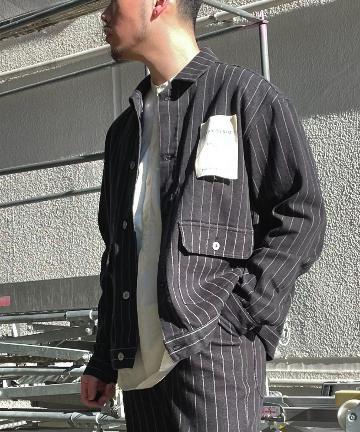 CIAOPANIC TYPY(チャオパニックティピー) 【TYPYDENIM/ティピーデニム】 デニムカバーオールジャケット