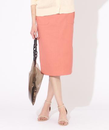 OUTLET premium(アウトレット プレミアム) 綿オックスタイトスカート