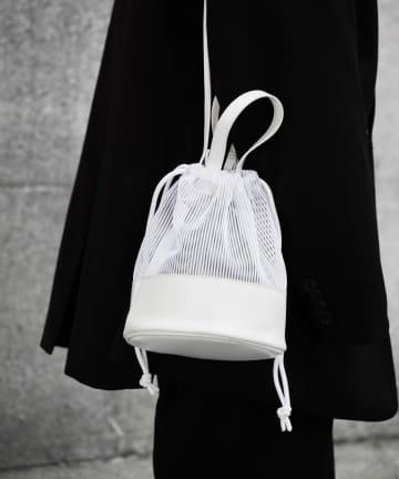 COLONY 2139(コロニー トゥーワンスリーナイン) 【@sakina_yamamoto】メッシュ巾着トートバッグ