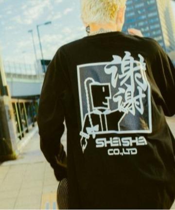 WHO'S WHO gallery(フーズフーギャラリー) 【SHEI SHEI/シェイシェイ】MR SHEI SHEI L/S TEE