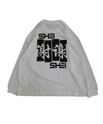 WHO'S WHO gallery(フーズフーギャラリー) 【SHEI SHEI/シェイシェイ】SHEI SHEI FLAG L/S TEE