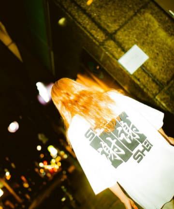 WHO'S WHO gallery(フーズフーギャラリー) 【SHEI SHEI/シェイシェイ】SHEI SHEI FLAG BIG TEE