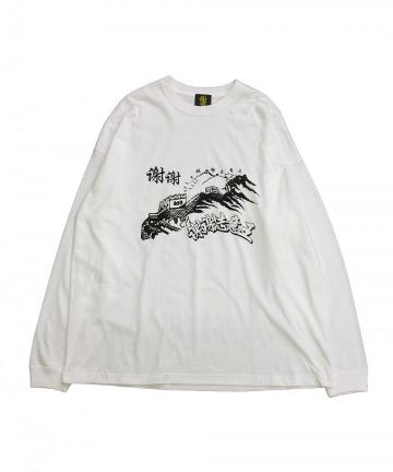 WHO'S WHO gallery(フーズフーギャラリー) 【SHEI SHEI】GREAT WALL OF SHEI SHEI L/S T