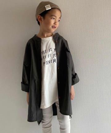 CIAOPANIC TYPY(チャオパニックティピー) 【KIDS】【OSORO】コットンリネンサファリシャツ