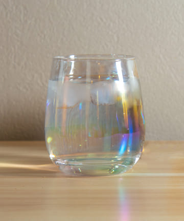 3COINS(スリーコインズ) 【おうちカフェを楽しむ】オーロラグラス