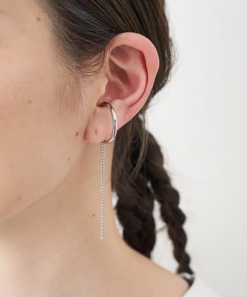 ear PAPILLONNER(イア パピヨネ) 直付チェーンイヤーカフ