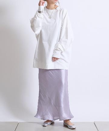 DOUDOU(ドゥドゥ) 【WEB限定】BIGスウェット&シアースカート