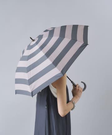 DOUDOU(ドゥドゥ) 【WEB限定】晴雨兼用 ボーダー 傘