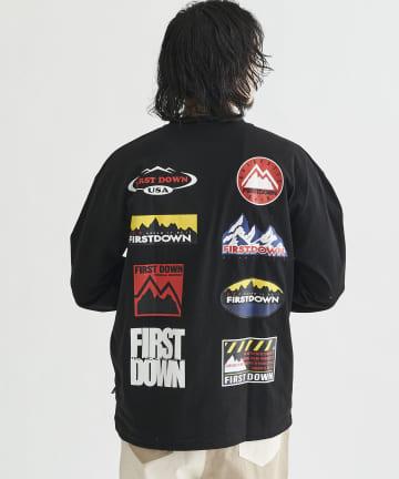 CPCM(シーピーシーエム) FIRST DOWN / ファーストダウン コレクターロングスリーブT