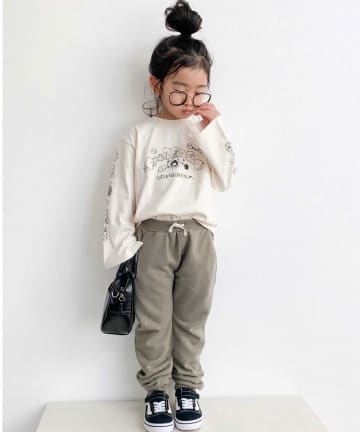 CIAOPANIC TYPY(チャオパニックティピー) 【KIDS】【すみっコぐらし×TYPY】限定スリーブプリント ロンT