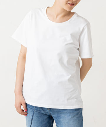 LIVETART(リヴェタート) 《three dots》パウダリーシャツ半袖