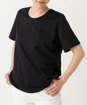 LIVETART(リヴェタート) 《three dots》パウダリーシャツ半袖カットソー
