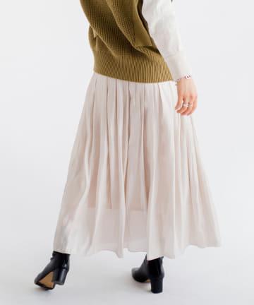 CPCM(シーピーシーエム) オーロラサテンスカート