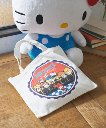 Daily russet(デイリー ラシット) 【sanrio×Dailyrusset】サンリオキャラクターズトートバッグ