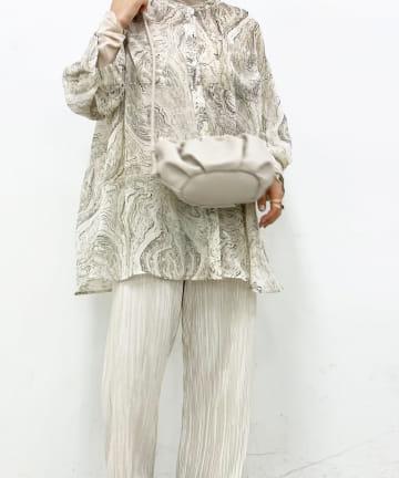 Lattice(ラティス) ギャザーデザインバッグ