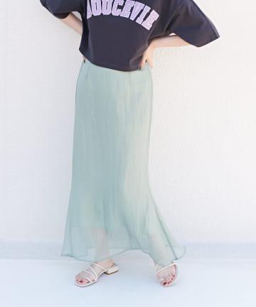 Discoat(ディスコート) ラメシアーマーメイドスカート