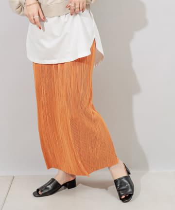 Discoat(ディスコート) カットプリーツナロースカート