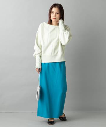Omekashi(オメカシ) Iラインロングスカート
