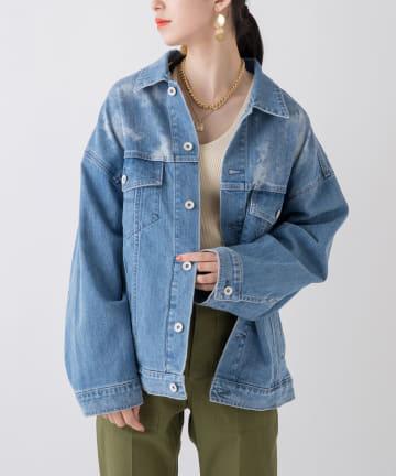 Loungedress(ラウンジドレス) 【YANUK/ヤヌーク】Big Jean Jacket