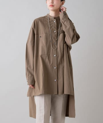 Loungedress(ラウンジドレス) 【PROTAGONISTA/プロタゴニスタ】オーバーシャツ