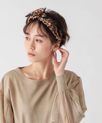 un dix cors(アンディコール) 【垣内彩未さん着用アイテム】ダルメシアン柄スカーフ