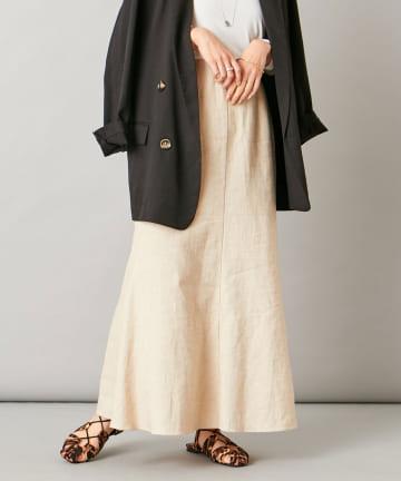 Omekashi(オメカシ) リネンマーメイドスカート