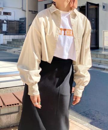 WHO'S WHO gallery(フーズフーギャラリー) ダメージショートシャツ