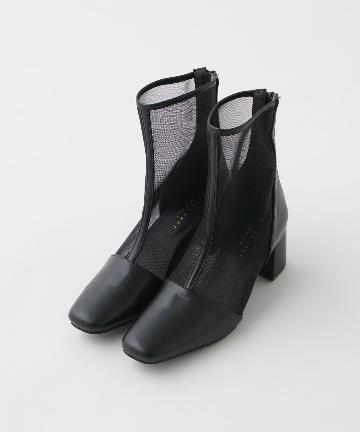 natural couture(ナチュラルクチュール) シースルーメッシュブーツ