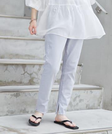 CIAOPANIC TYPY(チャオパニックティピー) フェードカラー裾フリンジレギパン