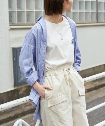 CIAOPANIC TYPY(チャオパニックティピー) 【CM着用】【OSORO】ブロードストライプシャツ