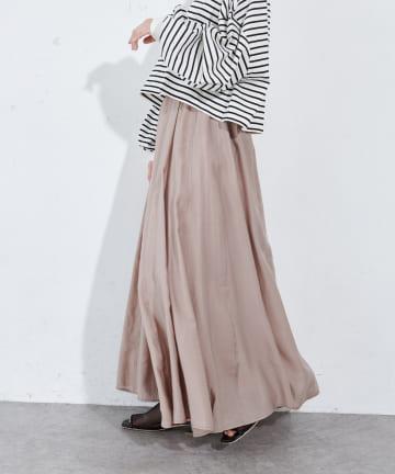 Discoat(ディスコート) テンセル混ハギスカート